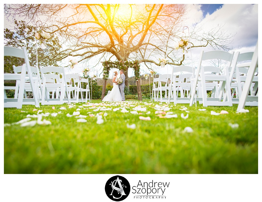 peppers craigieburn wedding in the garden